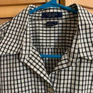 Chaps woman blouse size L